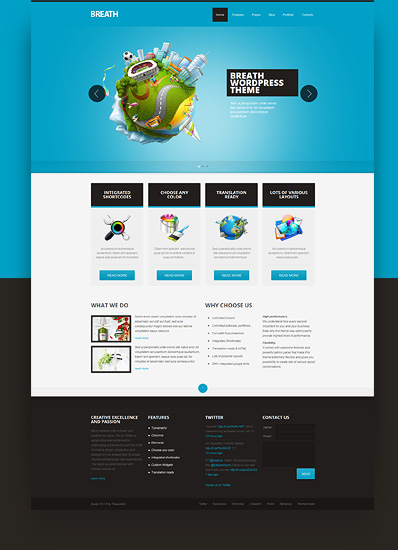 Breath WordPress Theme